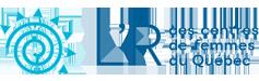 L'R des centres de femmes du Québec Logo