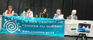 Participantes au panel